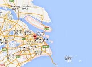şangay map