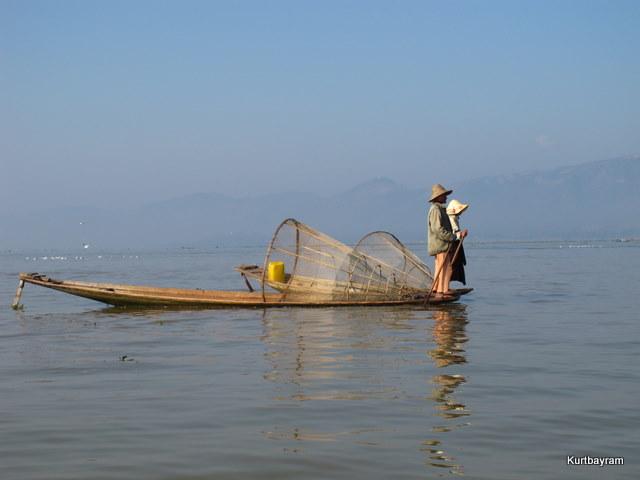 Inle gölü- Burma-Myanmar 2