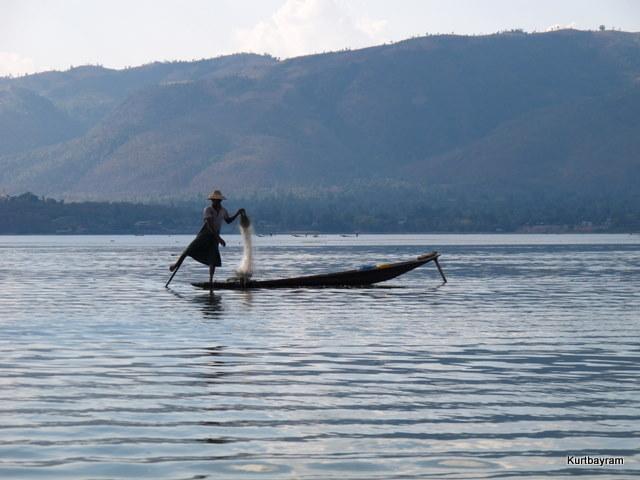 Inle gölü- Burma-Myanmar
