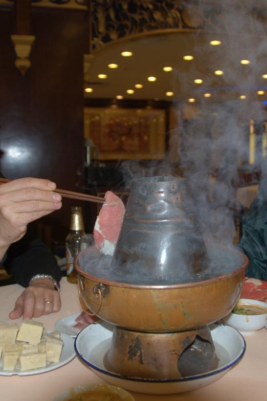 Hot Pot ve geleneksel Çin sofrası