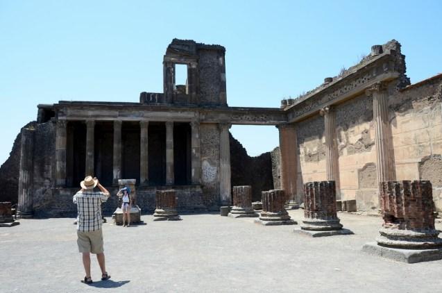 Jüpiter Tapınağının kalıntıları