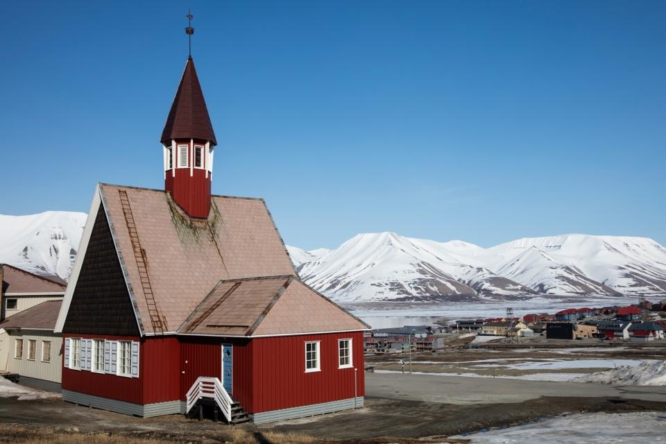 kilise ve langylearden şehri